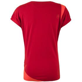 La Sportiva W's Chimney T-Shirt Berry/Coral